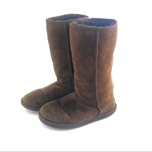 UGG Classic Tall 5815 Chocolate Brown Boot- Size 7